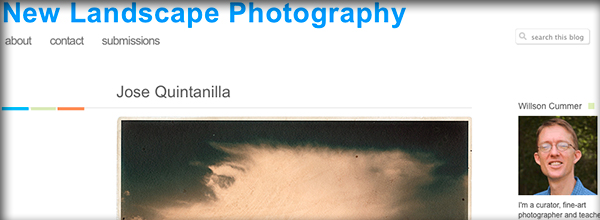 Mi trabajo en el blog New Landscape Photography