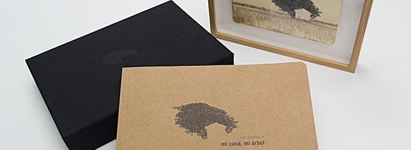 """Caja edición del libro """"Mi casa, mi árbol"""""""